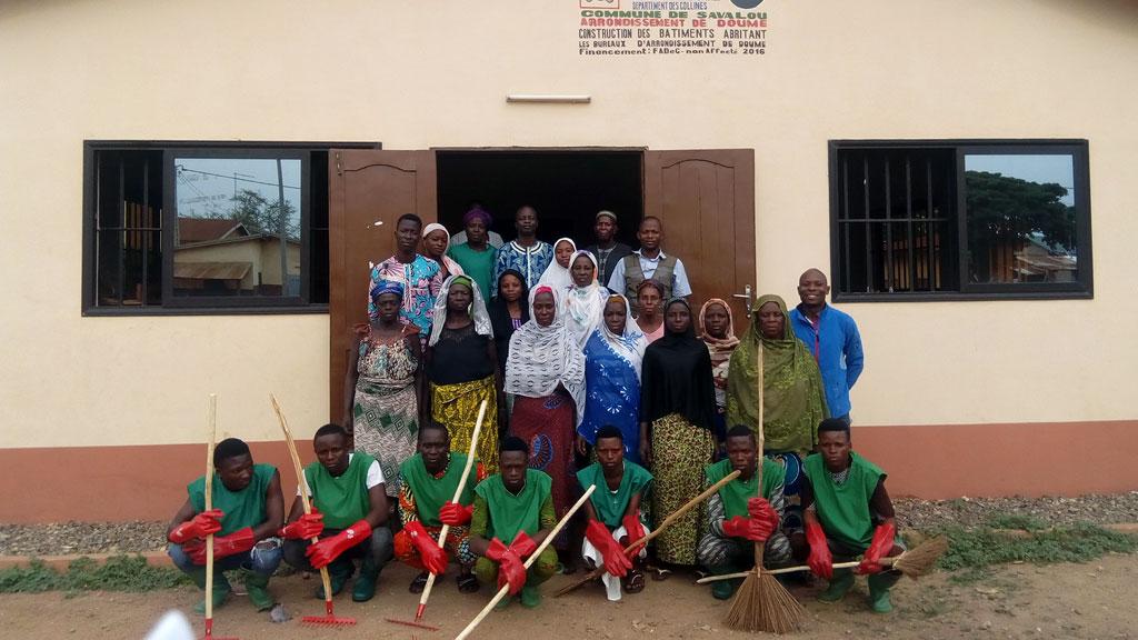 Brigade environnementale villageoise de Doumè dans la Commune de Savalou